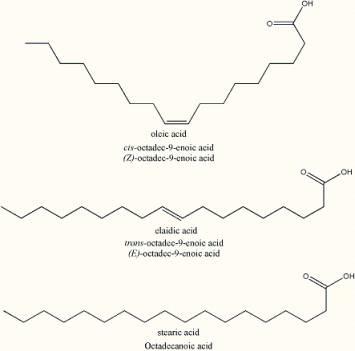 acidos graxos moleculas