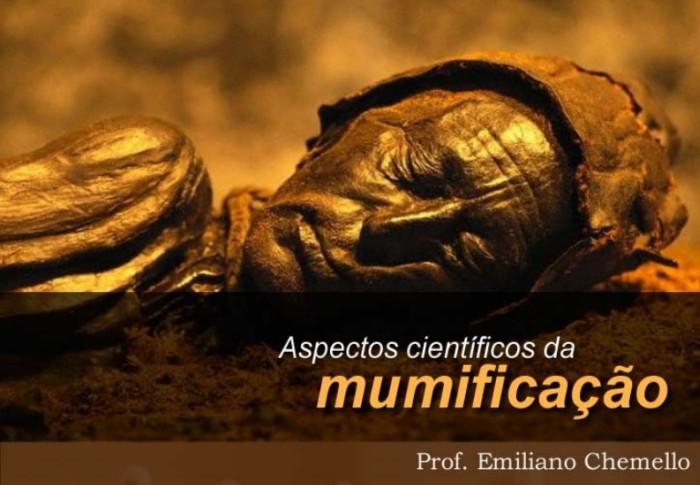 mumia e titulo do texto
