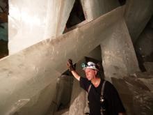 foto caverna cristais