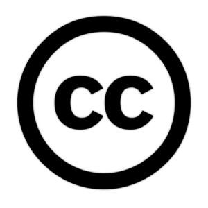 circulo com um CC dentro