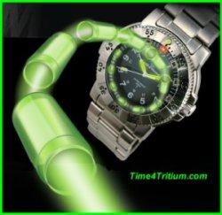 relógio trítio