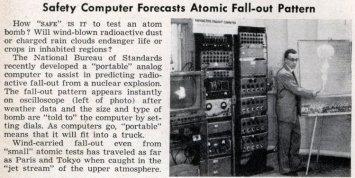 previsao de cinzas nuclear