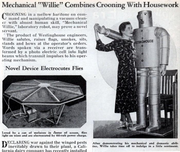 matéria da revista de 1934