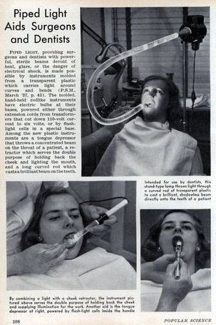 luz dentistas antigo