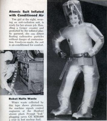 roupa radiacao protecao