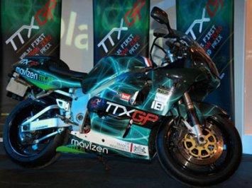 moto eletrica modelo ttx