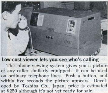 sistema antigo videofone