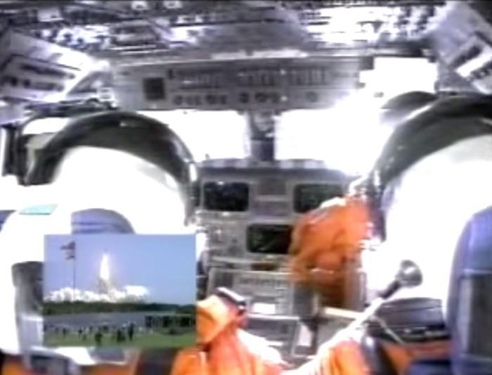 cabine e astronautas