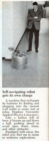 robo recarrega sozinho