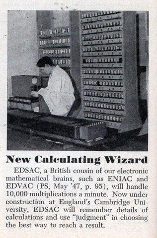 maquina calculo edsac computador