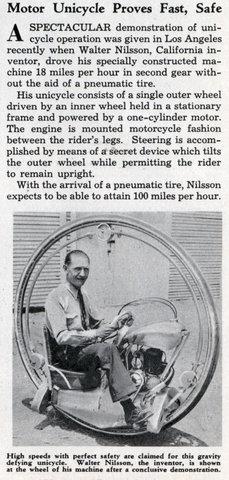 uniciclo antigo
