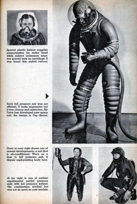 roupas de astronautas