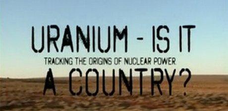 título de documentário sobre mineração do urânio