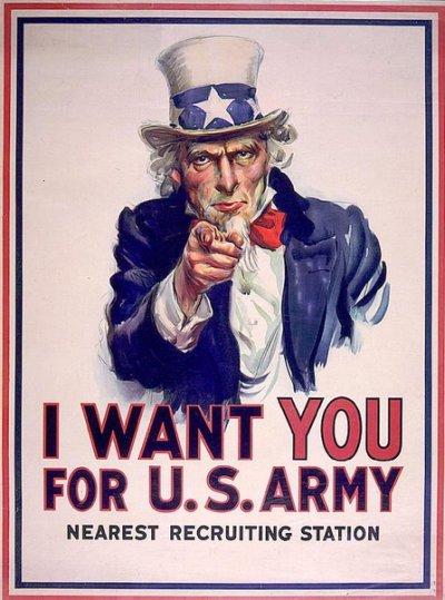 precisamos de você poster