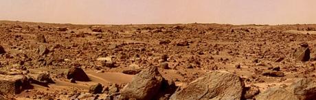 solo marciano registrado por uma sonda