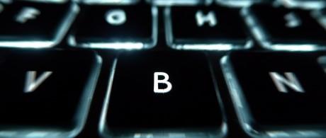 letras de um teclado