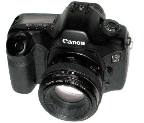 camera e lente canon