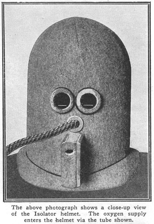 capacete inventado em 1925