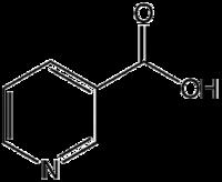 molécula de vitamina b3