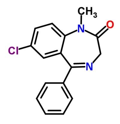 molécula valium