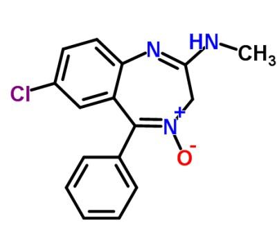 molécula de librium
