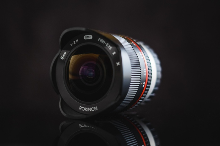 objetiva de camera digital