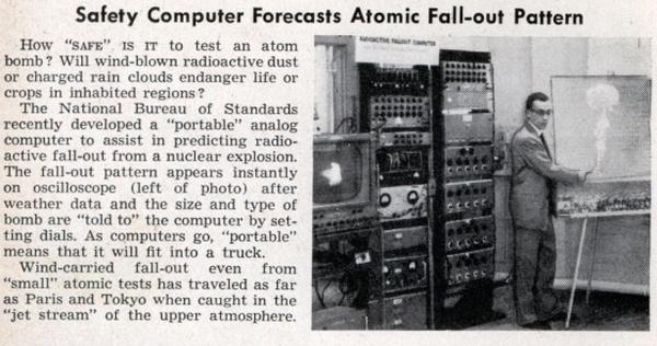 matéria em revista antiga sobre simulações atomicas