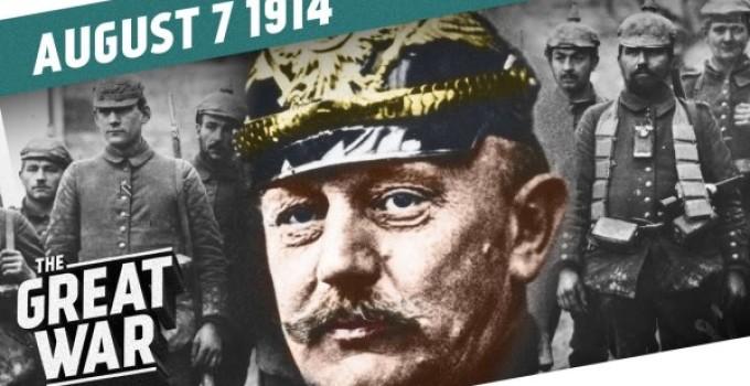 7 de agosto de 1914 na primeira guerra