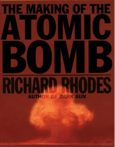capa de um livro sobre bomba atômica